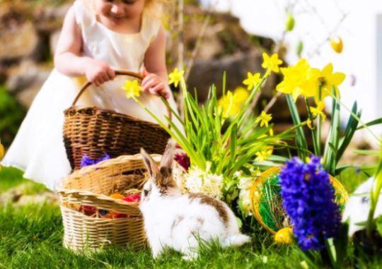 As brincadeiras para fazer com as crianças na Páscoa são importantes para apertar os laços afetivos (Foto: Divulgação)