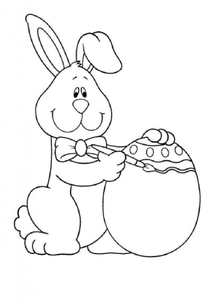 coelho da pascoa desenho