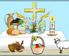 Símbolos da Páscoa e seus significados para colorir