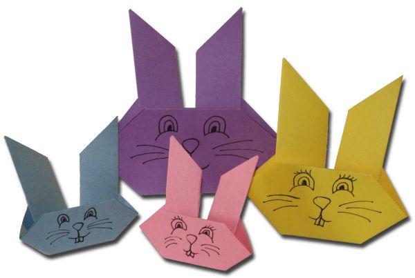 Há dobraduras de coelho da Páscoa bem fáceis de serem feitas (Foto: Divulgação)