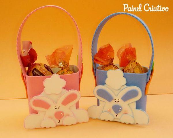 Ideias de cestinhas para Páscoa não faltam, escolha a que mais lhe agradar (Foto: pinterest.com)